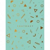 Abstract (мятный). Тетрадь...