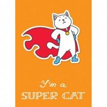 I am a supercat! Тетрадь...