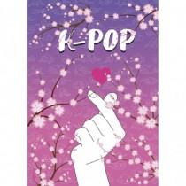 K-POP. Тетрадь (B5, 40 л. ,...