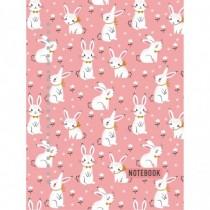 . Розовые кролики. Тетрадь...