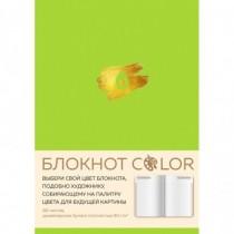 Блокнот Color (салатовый)....