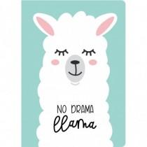 Блокнот. Лама. No drama...