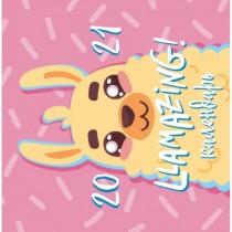 Llamazing year. Календарь...