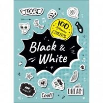 100 лучших стикеров. Black...