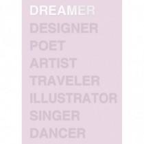 Ежедневник Dreamer розовый...